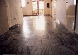 Mramorová podlaha